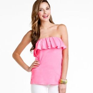 """Lilly Pulitzer Pink """"Wiley"""" Top"""
